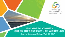 San Mateo County Energy Efficiency Programs Update