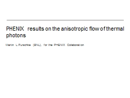 PHENIX results on the anisotropic flow of thermal photons
