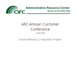Oracle Release  12  Migration Project