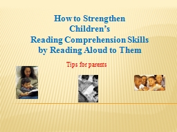 How to Strengthen  Children's