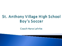 St. Anthony Village High School