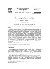Theoretical Computer Science     www