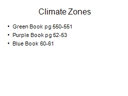 Climate Zones Green Book pg 550-551