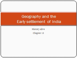 History Alive Chapter 13