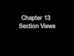 Chapter 13 Section Views