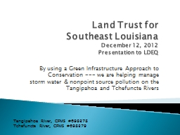 Land Trust for Southeast Louisiana