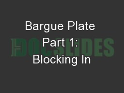 Bargue Plate Part 1: Blocking In