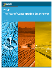 THE YEAR OF CONCENTRATING SOLAR POWER  The Year of Co