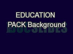 EDUCATION PACK Background PowerPoint PPT Presentation