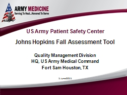 US Army Patient Safety Center
