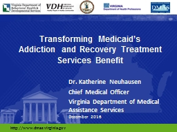 Transforming Medicaid's PowerPoint PPT Presentation