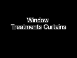 Window Treatments Curtains