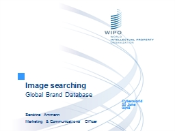 Image searching Global Brand Database