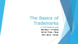 The Basics of Trademarks