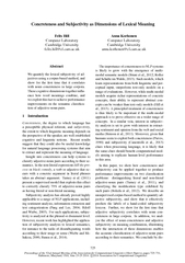 Proceedings of the nd Annual Meeting of the Associatio