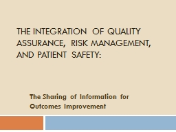 The Integration of Quality