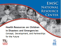 Health Resources on Children