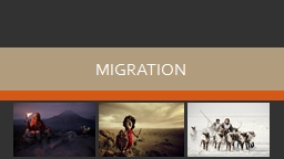 Migration Movement Mobility PowerPoint PPT Presentation