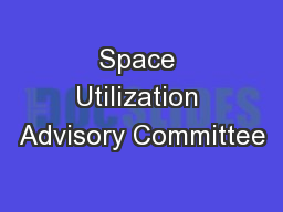 Space Utilization Advisory Committee