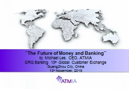 """The Future of Money and Banking"""