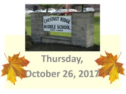 Thursday, October 26, 2017 PowerPoint PPT Presentation