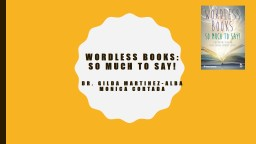 Wordless Books: So Much to Say
