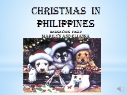 Christmas in Philippines