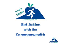 Get Active  with the  Commonwealth