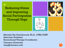 Reducing Stress and Improving Social Participation Through Yoga
