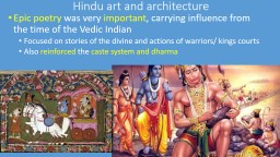 Hindu art and architecture PowerPoint PPT Presentation