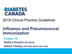 2018 Clinical Practice Guidelines