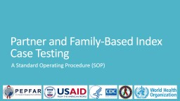 Partner and Family-Based Index Case Testing
