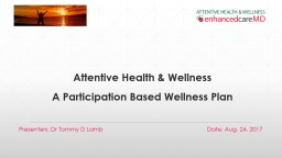 Attentive Health & Wellness PowerPoint PPT Presentation