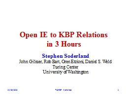 Open IE to KBP Relations
