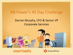NB Power's 45 Day Challenge