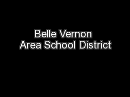 Belle Vernon Area School District