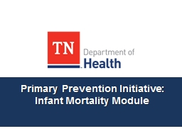 Primary Prevention Initiative: