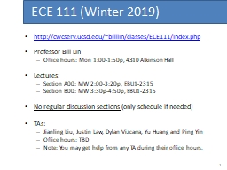 http://cwcserv.ucsd.edu/~billlin/classes/ECE111/index.php