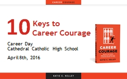 Keys to  				Career Courage