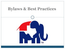 Bylaws & Best Practices