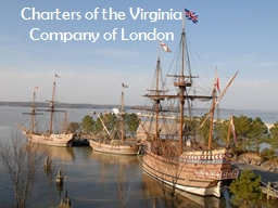 Charters of the Virginia Company of London