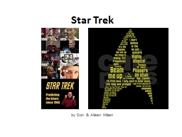 Star Trek by Don & Alleen Nilsen