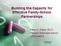 Building the Capacity for