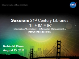 Session:  21 st  Century