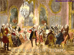 The Baroque Period https://