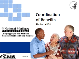 Coordination  of Benefits PowerPoint PPT Presentation
