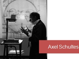 Axel  Schultes Axel  Schultes