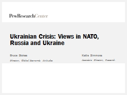 Ukrainian Crisis: Views in NATO, Russia and Ukraine
