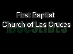First Baptist Church of Las Cruces