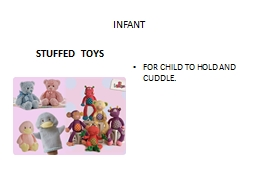 AGE APPROPRIATE TOYS INTRO TO FCS